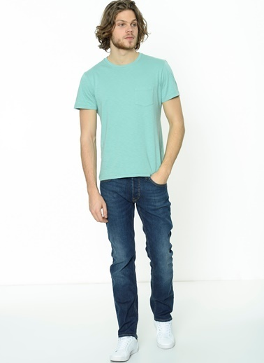 Lee Tişört Mavi